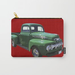 Green 1951 Ford F-1 Pickup Truck  Carry-All Pouch