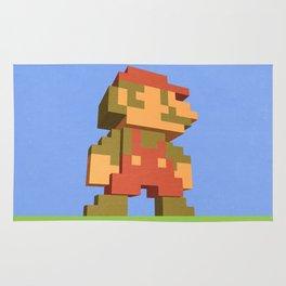 Mario NES nostalgia Rug