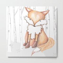 Flynn Fox Metal Print