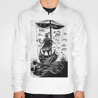 voyage Hoodies featuring Voyage by Daizy Boo