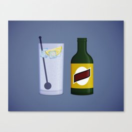 Gin & Tonic Canvas Print
