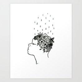 Mental Growth Art Print