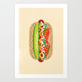 Chicago Style Art Print