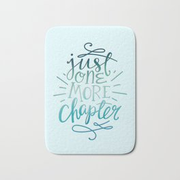 Book Worm One More Chapter Bath Mat