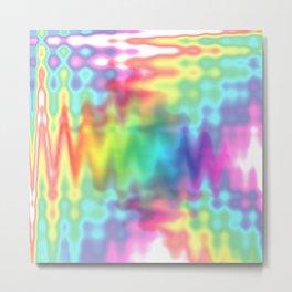 I Bleed Rainbows and Glitter Metal Print