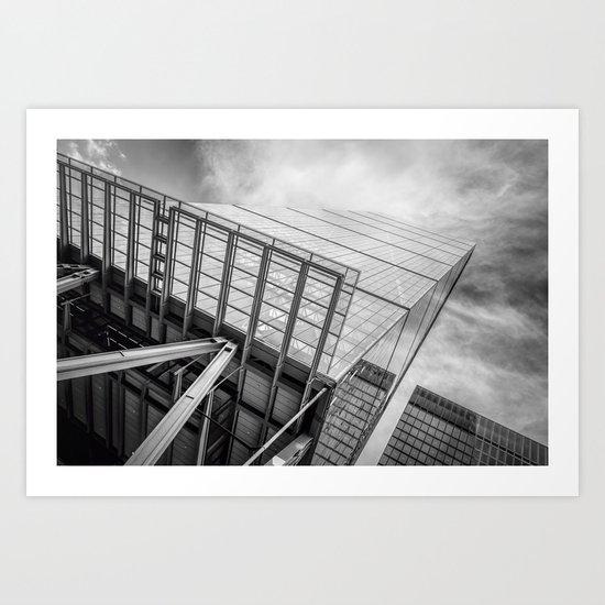 London skyscraper Art Print