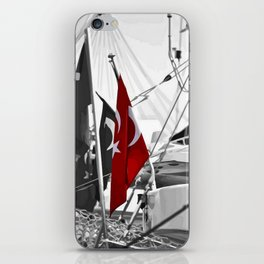 Flag of Turkey - Selective Coloring iPhone Skin