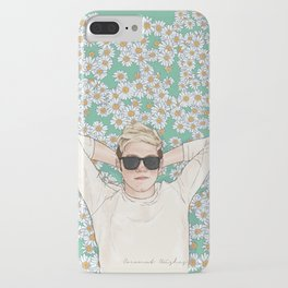 Niall daisies field iPhone Case