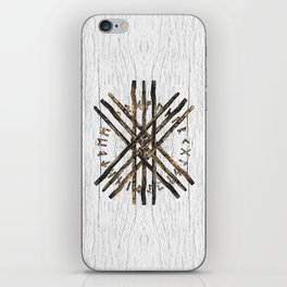 Web of Wyrd  -The Matrix of Fate iPhone Skin