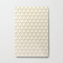 Geometric Pattern Metal Print