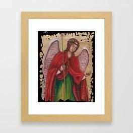 Archangel Gabriel Framed Art Print