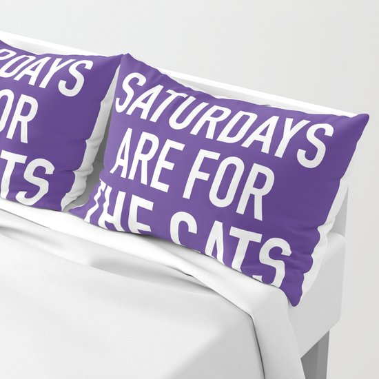 Saturdays are for the Cats by socoart