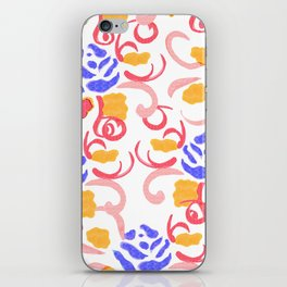 zakiaz blue roses iPhone Skin