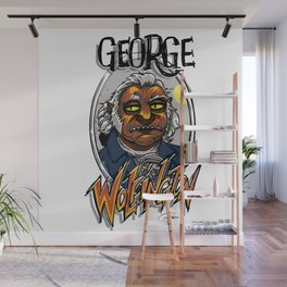 Evil Scout: Founding Fearfather George Wolfington Wall Mural
