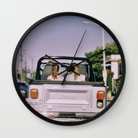 jeep Wall Clocks featuring Jeep by Warren Silveira + Stay Rustic