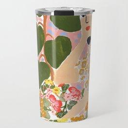 Botanical Lady Travel Mug