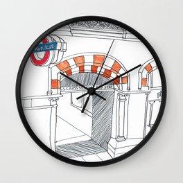 Underground in London Wall Clock