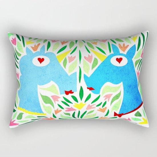 My Mind's Made Up Rectangular Pillow