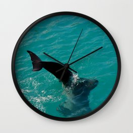 bottoms up Wall Clock