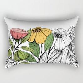 First summer blooms Rectangular Pillow