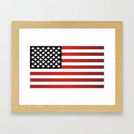 United States of Canada Framed Art Print