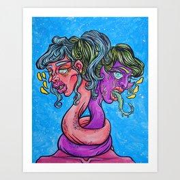 Absence & Disgust Art Print