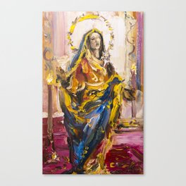 Sorrowful Mother Shrine Canvas Print