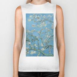 Vincent Van Gogh - Almond Blossoms Biker Tank