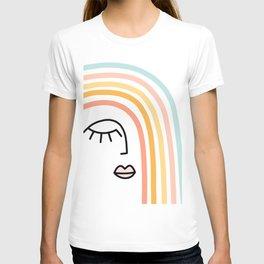 Rainbow State of Mind - pastel T-shirt