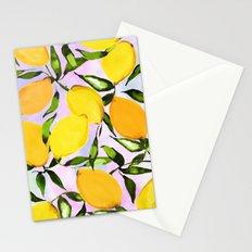 Citrus lemons Stationery Cards
