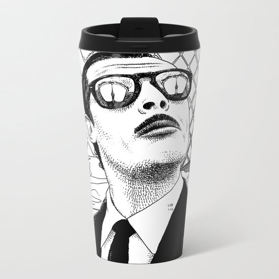 asc 390 - L'amant sicilien (The Southern lover) Metal Travel Mug
