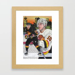 Pavel Bure Framed Art Print