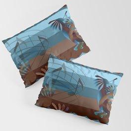 Southwest Kokopelli Music Pillow Sham