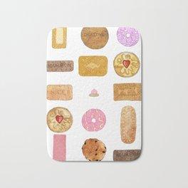 Biscuits Bath Mat
