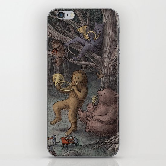 Forest Music  iPhone & iPod Skin