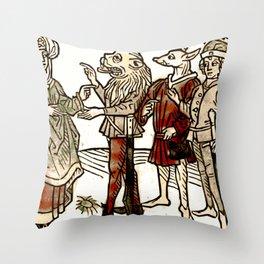 Circe in De claris mulieribus Throw Pillow