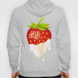 Strawberry covered with cream Hoody