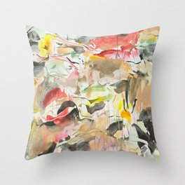 You Choose the Colors Throw Pillow