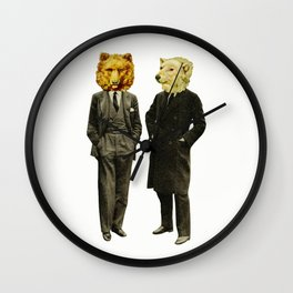 The Likely Lads Wall Clock