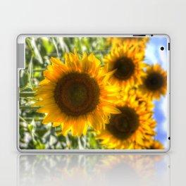 Sunflowers Summer Days Laptop & iPad Skin
