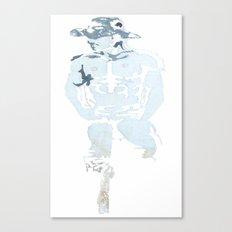 Denim Cowboy Canvas Print