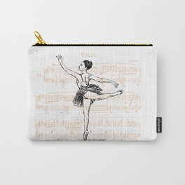 Ballerina print Carry-All Pouch