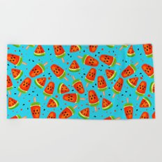 Watermelon pattern Beach Towel