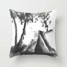 Alluding Title Throw Pillow