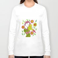 friendship Long Sleeve T-shirts featuring Friendship by Jessie Lilac