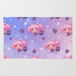 New Chibiusa Pattern Rug