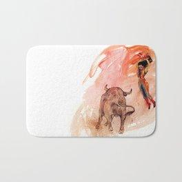 Bullfighter Bath Mat