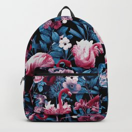 Floral and Flamingo VIII Backpack