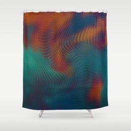 Digital Clouds MMXVIII-2 Shower Curtain