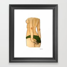 Risky Framed Art Print
